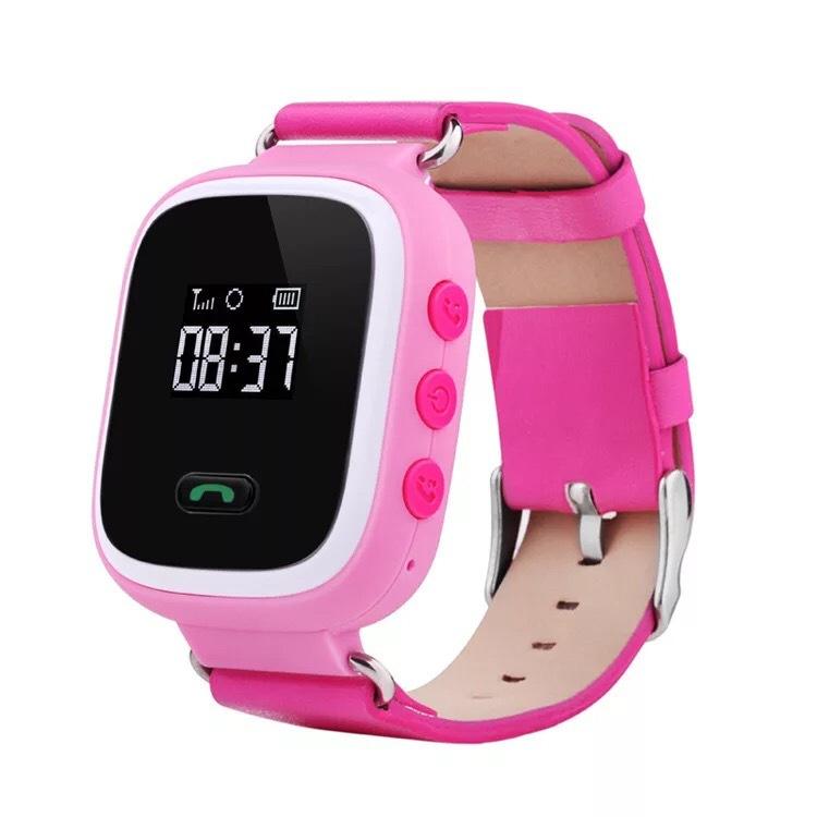 儿童定位手表 GPS定位1.22彩屏触摸屏 多语言WFI儿童智能定位手表