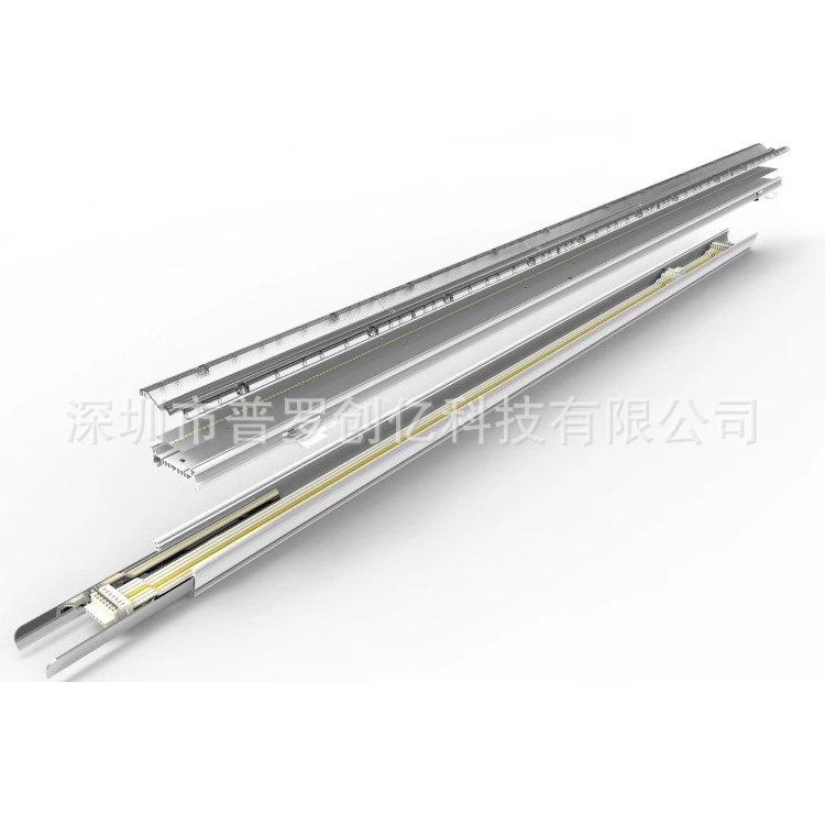 40W线条灯led 工业线形吊线灯 1.5米轨道线型灯 无缝拼接led