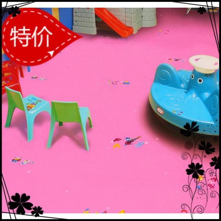福州地塑 博凯得利卡pvc地板环保地胶幼儿园防环保地板幼儿园