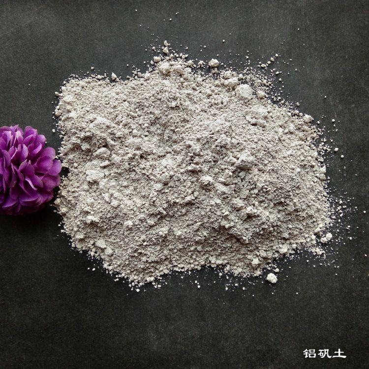 厂家直销 高铝矾土 骨料 竖窑 耐火浇注料 铸造 熟料铝矾土粉