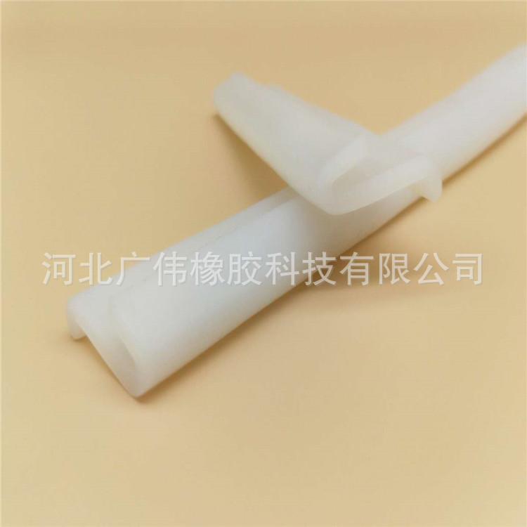 定制 硅胶实心圆条 耐高温硅胶密封圆条 透明硅胶密封条