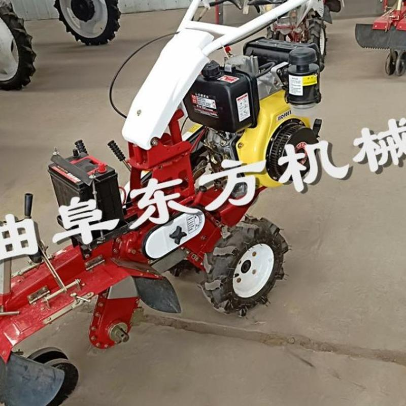 小型柴油微耕机 旋耕松土果园开沟机 除草开沟微耕机