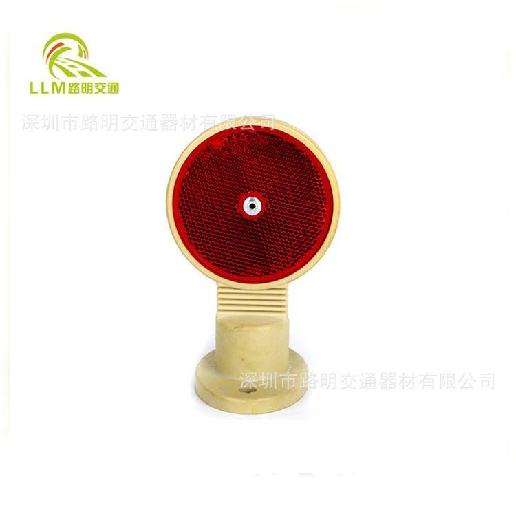 专业生产圆形可反弹轮廓标 双面弹性轮廓标 PU圆形轮廓标