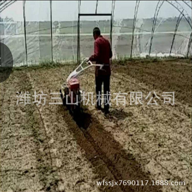 华沃大马力旋耕开沟机 小型大棚开沟培土机 大功率开沟培土机