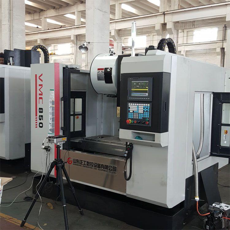 五轴加工中心厂家  VMC850五轴数控立式加工中心机床