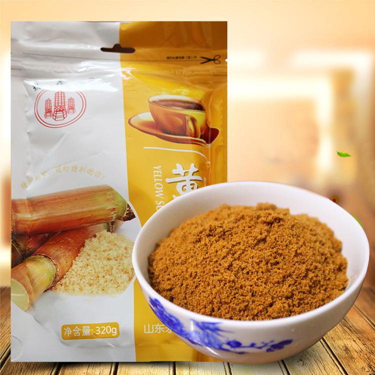 【厂家批发直销】塔鑫源320g烘焙食品级酵素专用小包装赤黄砂糖
