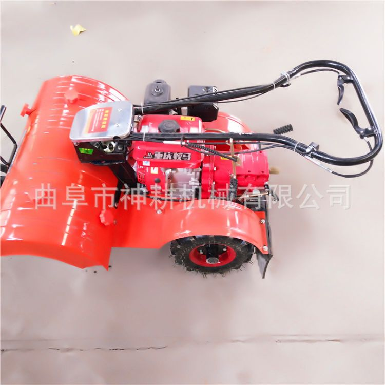 厂家供应四驱微耕机 汽油多功能小型除草机机优质果园耕田微耕机