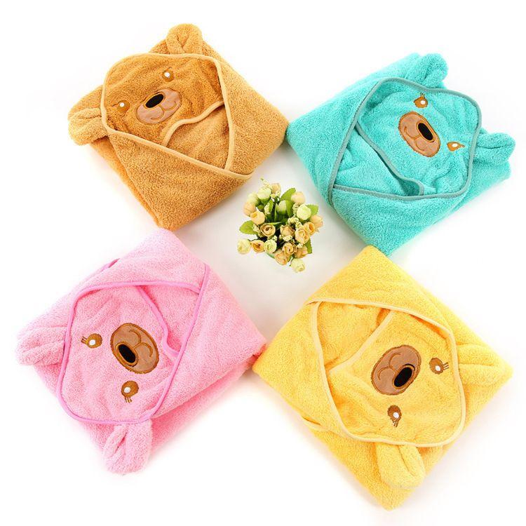 批发小动物造型珊瑚绒宝宝抱被 新生婴儿襁褓85*85cm保暖儿童睡袋