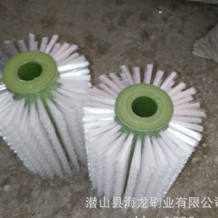 厂家定制各类尼龙丝毛刷辊 清洗机毛刷辊 磨料丝毛刷辊 品种齐全