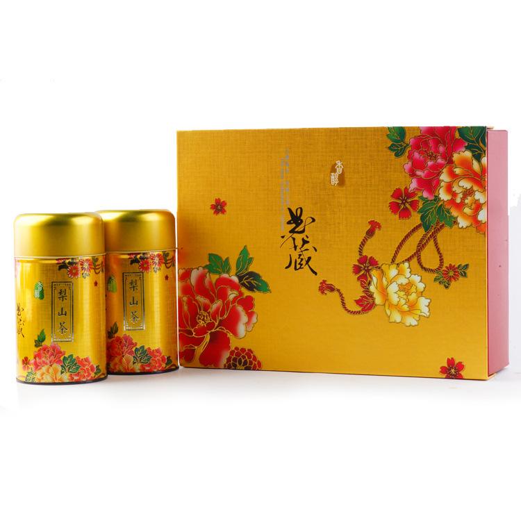梨山高山乌龙茶 台湾阿梨山高冷茶 高山乌龙茶清香型新茶 礼盒装