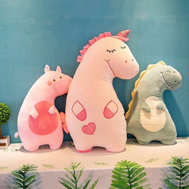 厂家直销毛绒玩具软体卡通佩奇猪抱枕毛绒玩具玩偶儿童生日礼物