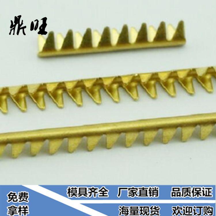 热销产品 直条鲨鱼齿端子 直条包线端子 接线端子 欢迎订购