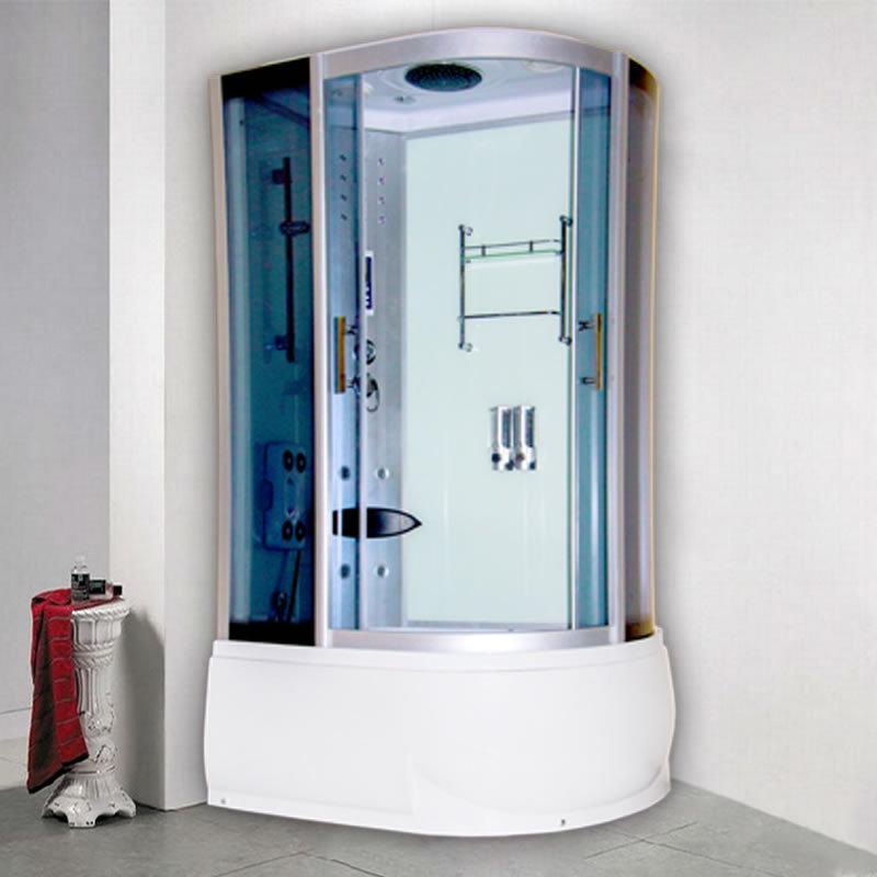 新世爵整体卫生间洗澡淋浴房带浴缸蒸汽一体式沐浴封闭桑拿房批发