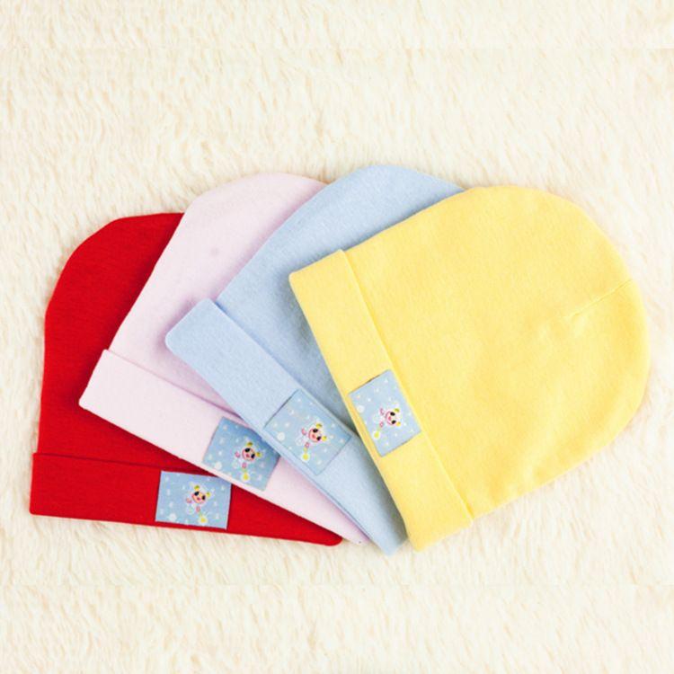 婴儿帽子厂家批发婴儿睡眠帽新生儿帽子宝宝帽婴儿胎帽 厂家直销