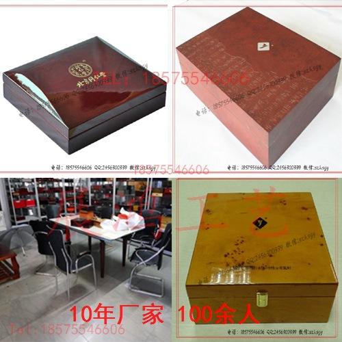 钢琴漆烤漆木盒工艺钢琴烤漆木盒厂家批量生产
