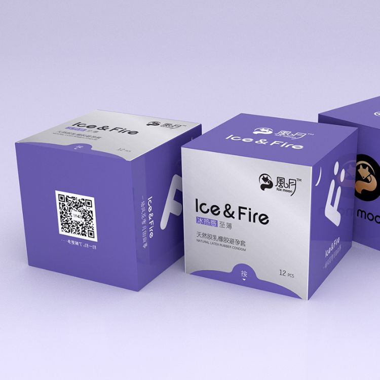 风月超滑避孕套冰热感水溶