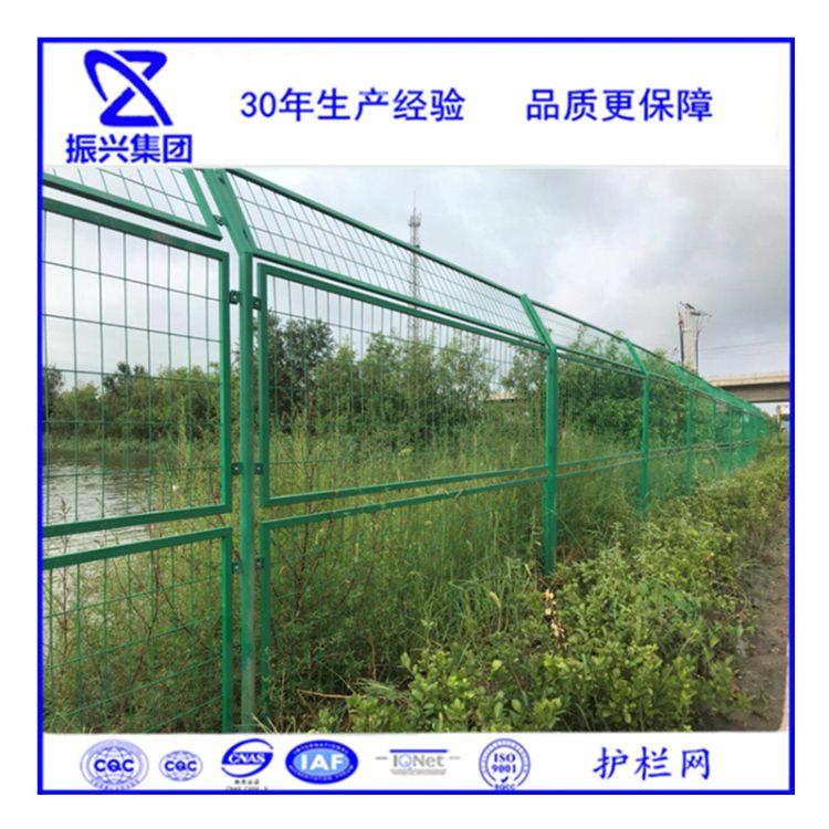 厂家水库河道护栏网 双边丝围栏防护网 场地防护网 铁丝网定做