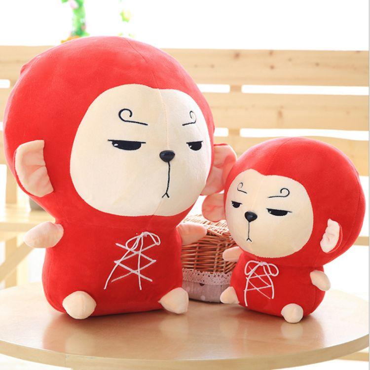 新品花游记同款孙六空可爱小猴子批发公仔毛绒玩具猪猪布娃娃玩偶