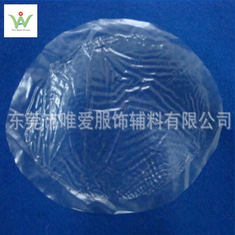 厂家生产供应环保耐高温透明压模杯硅胶胸垫硅胶插片