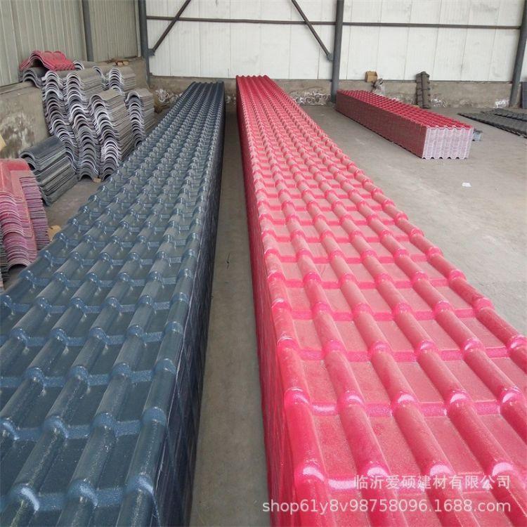 蚌埠合成树脂瓦 树脂瓦工程 仿古树脂瓦 一平方多少钱