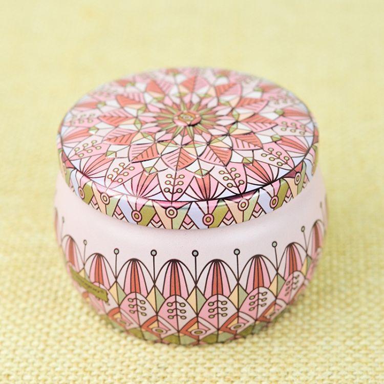i-mogoo 透金闪亮 婚庆喜糖盒 糖果花茶蜡烛罐 特殊工艺印刷 批发