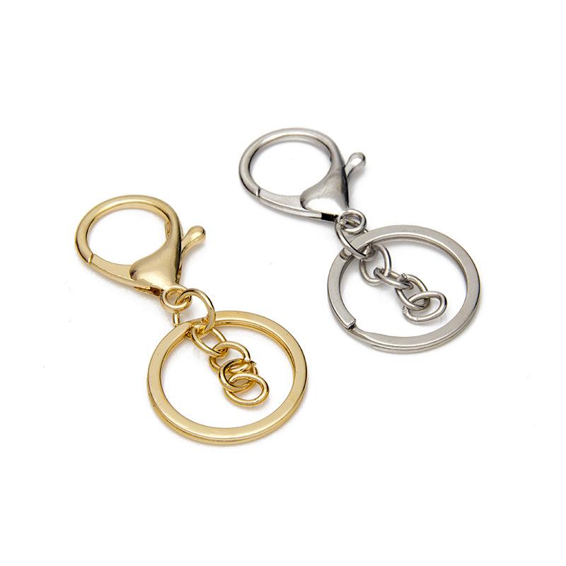 厂家直销diy手工饰品配件龙虾钥匙扣 金属挂件
