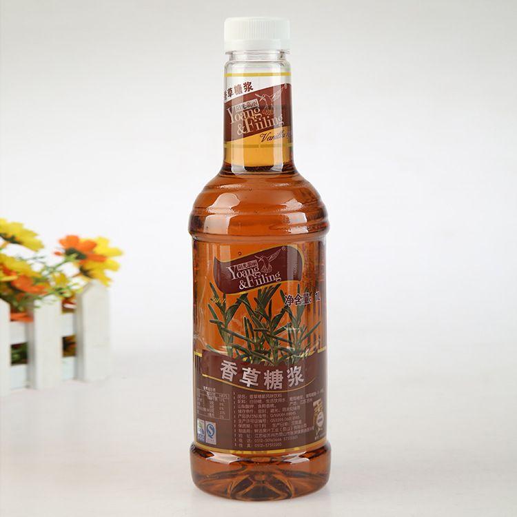 鲜活果汁 鲜活香草糖浆 阳光翡丽香草风味饮料糖浆 批发
