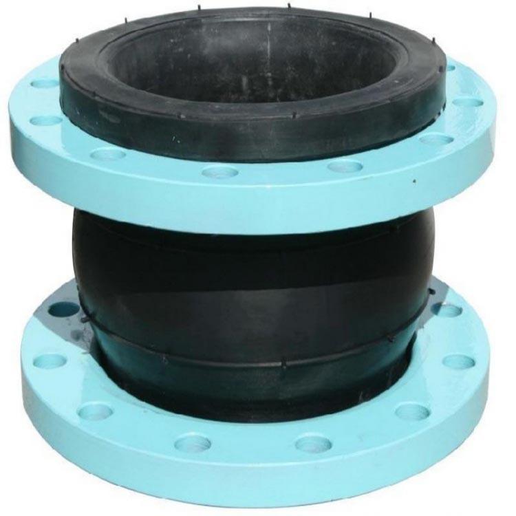单球体合成橡胶接头 不锈钢橡胶软接头 矿用橡胶软接头 防腐蚀耐油橡胶软连接