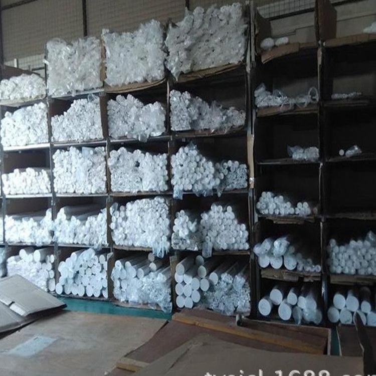白色半透明三氟聚偏乙烯棒 白色PCTFE棒 德国三氟棒,