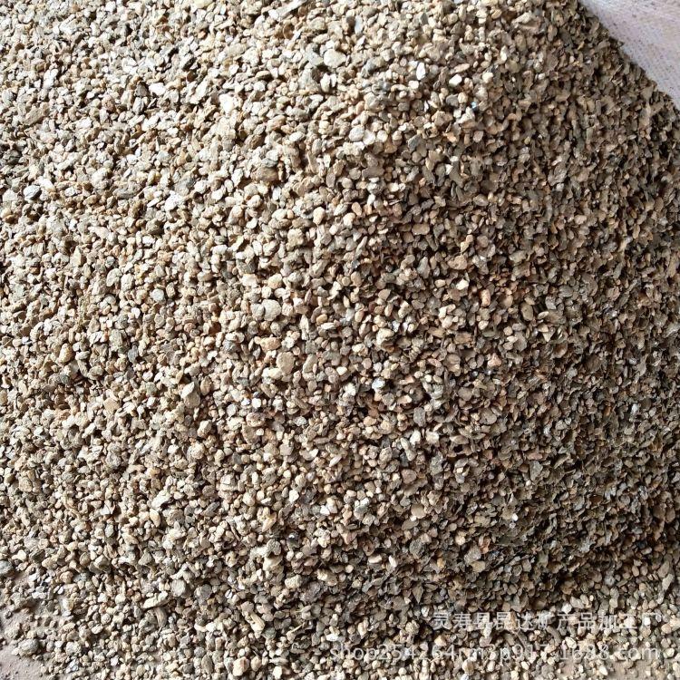 厂家供应优质蛭石片 天然蛭石原矿 蛭石颗粒大片