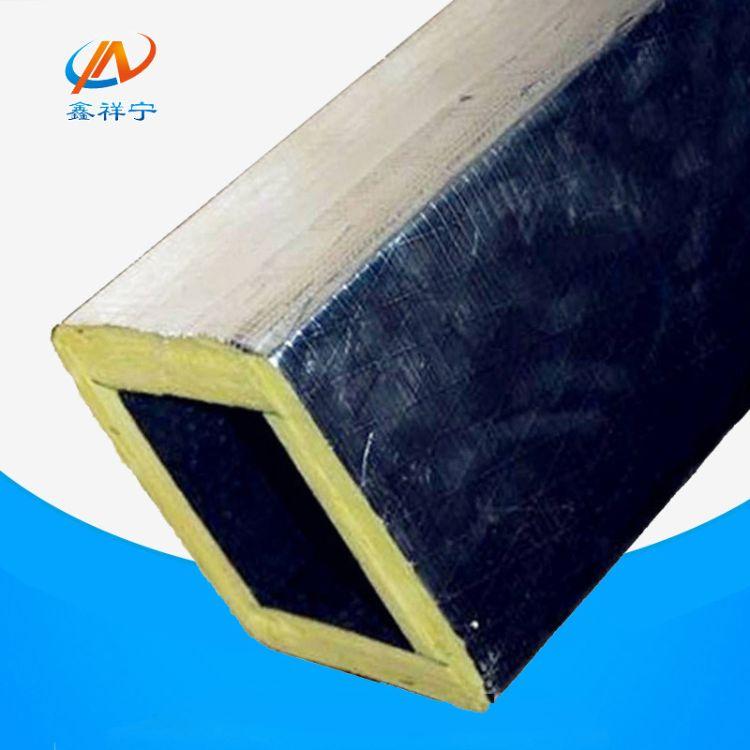 玻纤复合风管厂家供应耐高温双面彩钢玻纤板彩钢玻璃纤维复合风管