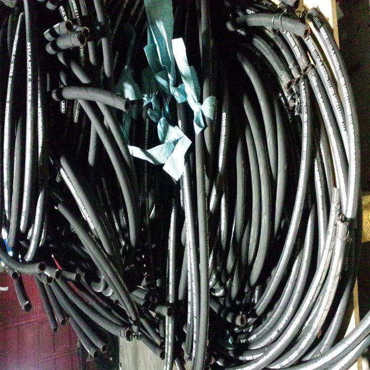 现货供应PARKER派克系列液压油管 优质橡胶钢丝光面高压胶管