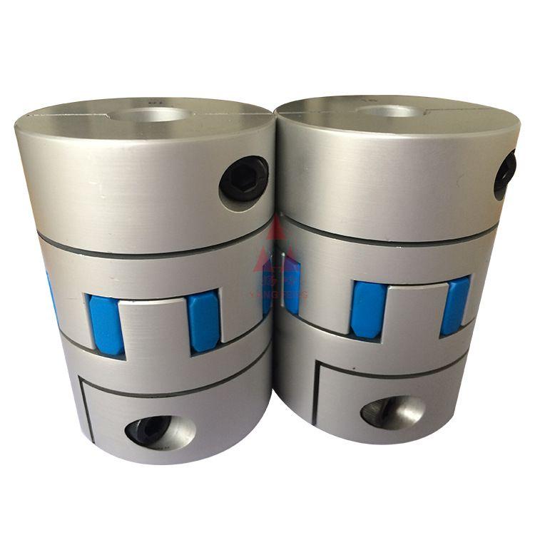 大扭矩弹性梅花联轴器双膜片氧化铝联轴器梅花联轴器生产厂家