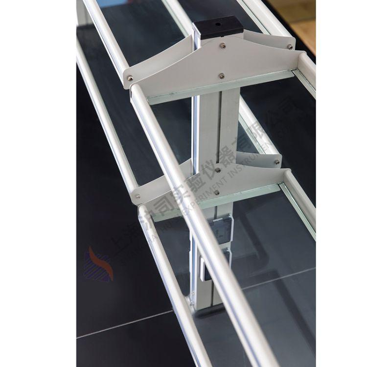 实验室铝玻试剂架 铝玻中央台试剂架 铝玻边台试剂架 铝玻仪器架
