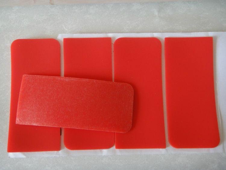 3M防滑贴 红色硅胶垫片 3M硅胶贴 eva脚垫硅胶脚垫按客规格订做