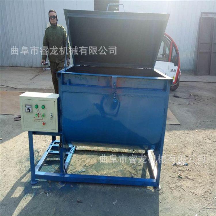 饲料搅拌机价格 加厚碳钢搅拌机 电动卧式混合搅拌机