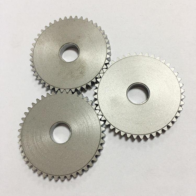 专业齿轮链轮生产厂家 加工双排链轮齿轮 链条齿轮机械零件发电机