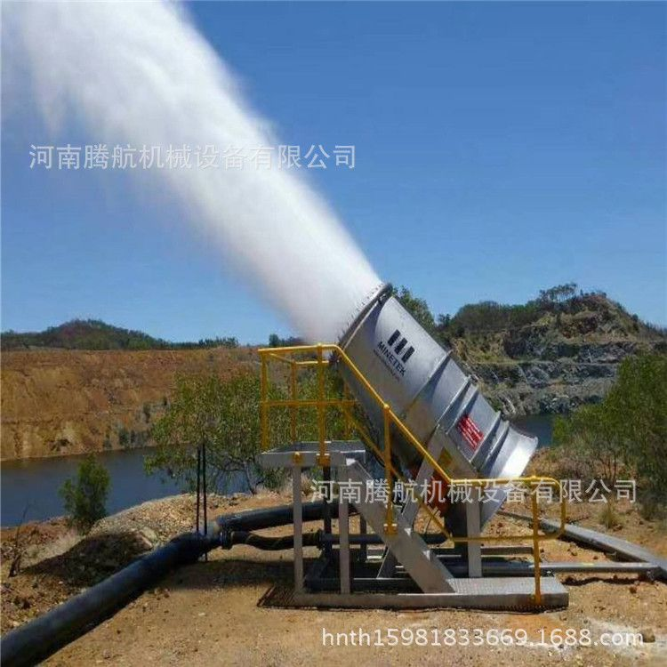 建筑煤场高射程雾炮机 50米车载雾炮机 工地环保自动降尘喷雾机