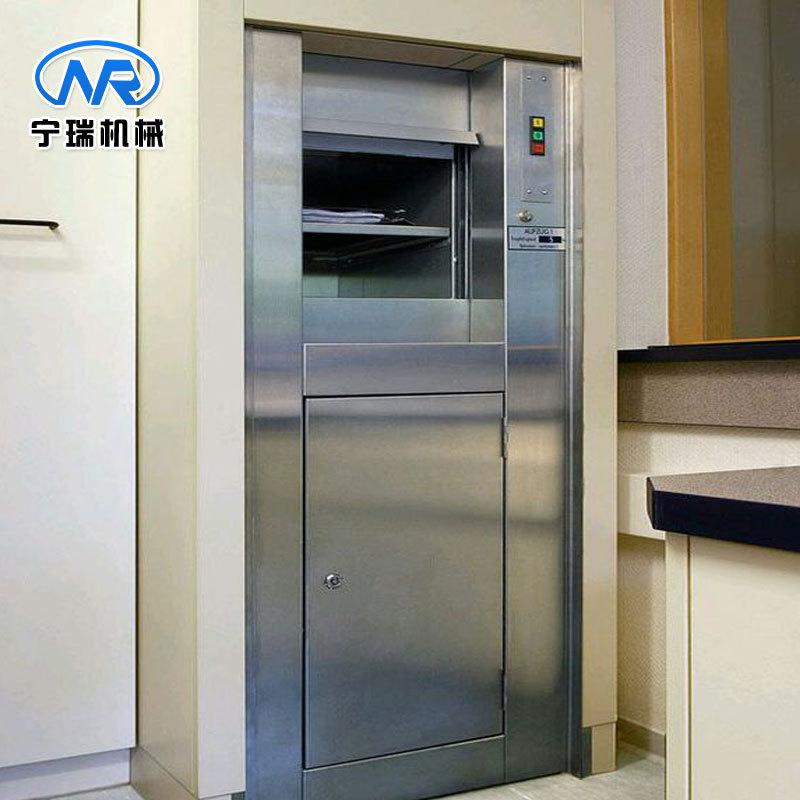 酒店厨房专用自动传菜机升降机 曳引式传菜机货梯自助轻便易安装