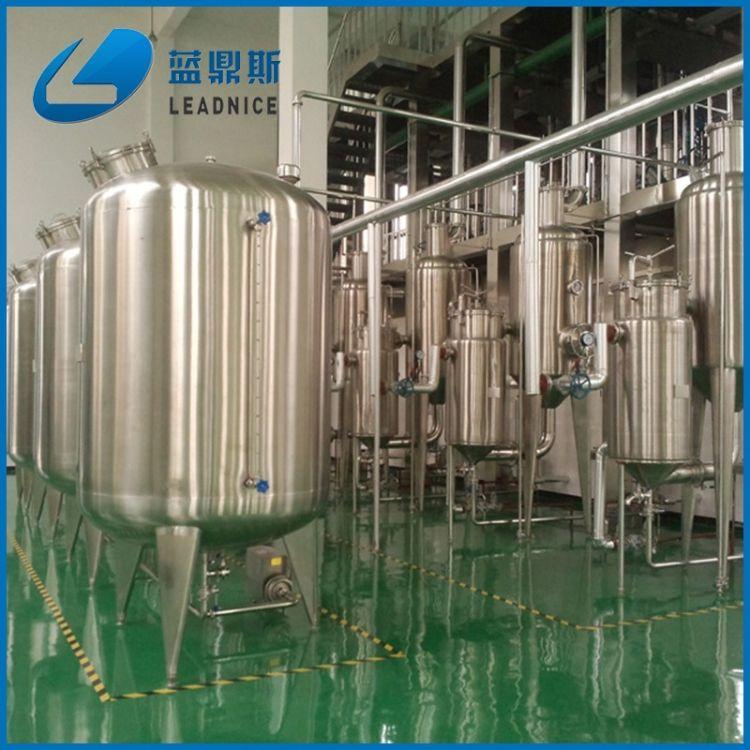 多功能提取浓缩设备 不锈钢提取罐 酒精回收浓缩器 三效蒸发器