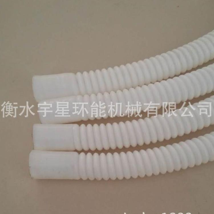 【厂家直销】白色半透明四氟管  PTFE聚四氟乙烯波纹管 四氟管
