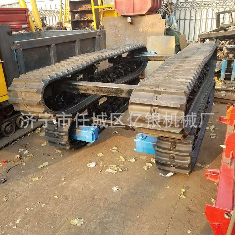 工厂直销履带式液压底盘橡胶履带底盘履带式运输设备