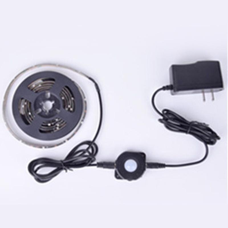 床底电源感应灯带  LED灯条 人体智能感应灯条 感应灯带 红外智能