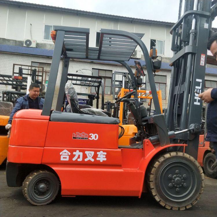 合力电动叉车二手叉车夹抱叉车三支点叉车电动2.5吨3吨5吨叉车