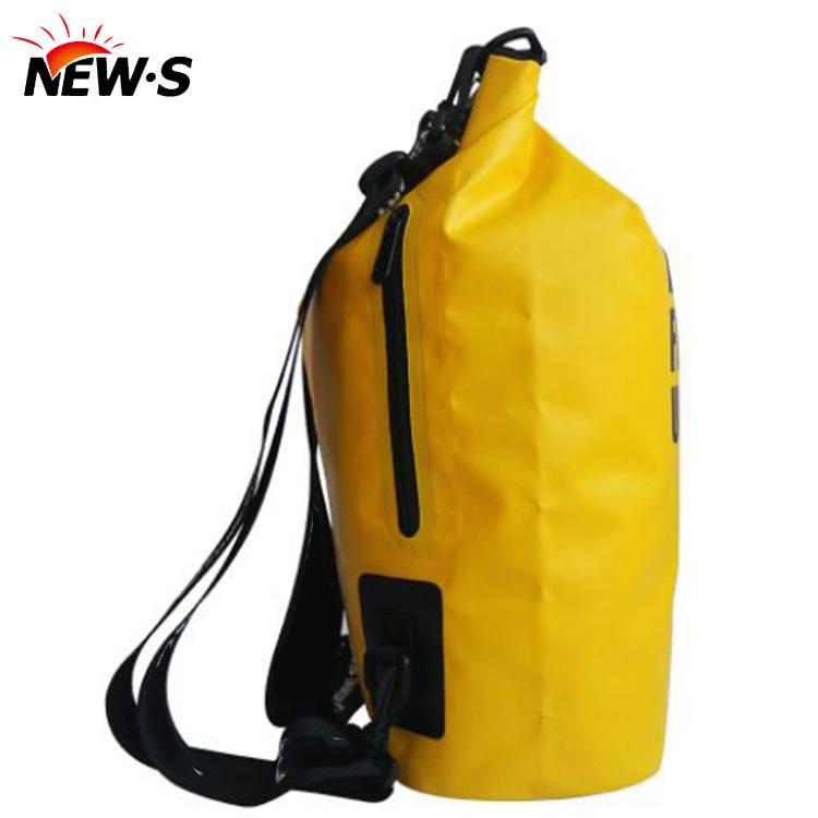 厂家直销批发休闲户外收纳防水桶包 环保PCV材质旅游装备防水桶包