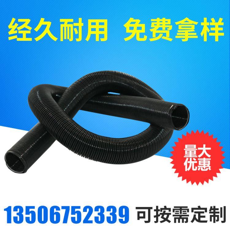 热销PU钢丝伸缩管 PU弹簧软管/吸尘器软管PU耐高温低温钢丝伸缩管