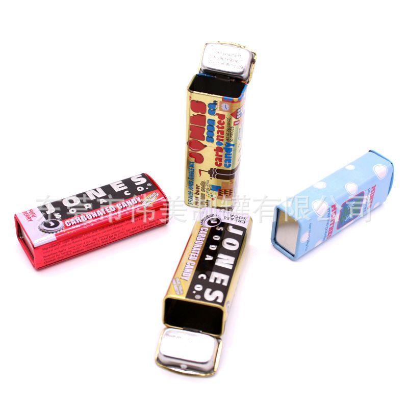 定制高档口香糖铁盒  翻盖薄荷糖铁罐 迷你口香糖小铁盒 糖果铁盒