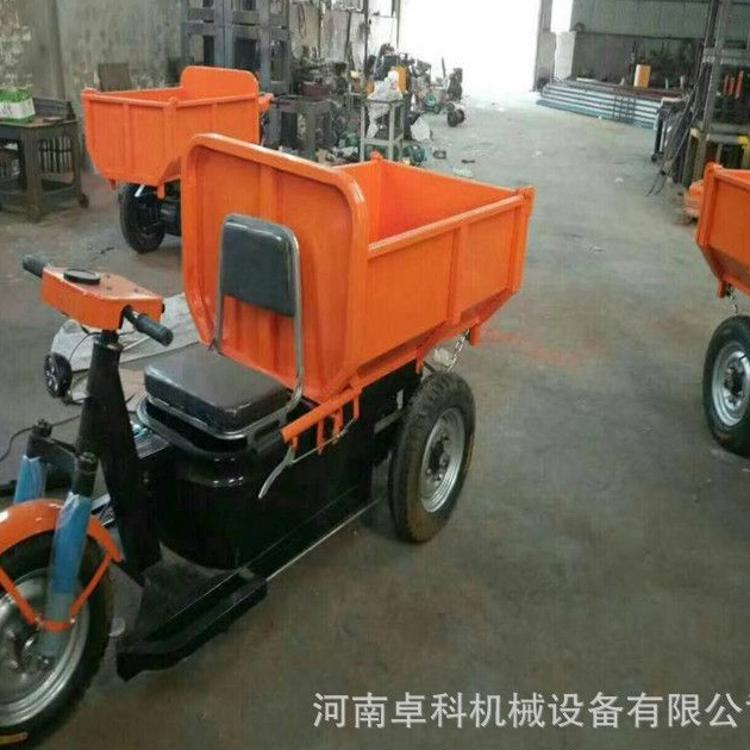 现货供应建筑工地灰斗车 小型电动混凝土灰斗车 工地电动灰斗车