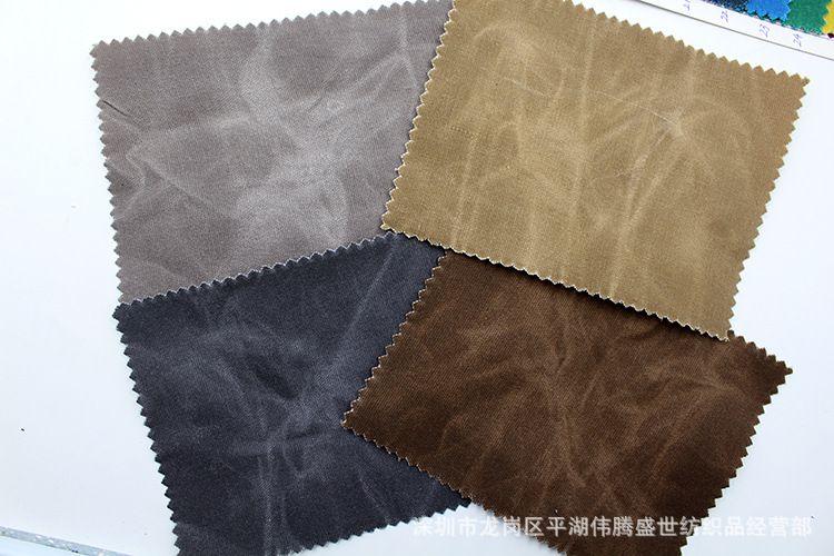 过蜡帆布 油蜡帆布 12安帆布过蜡 湿蜡干蜡帆布 涂层帆布 可代加