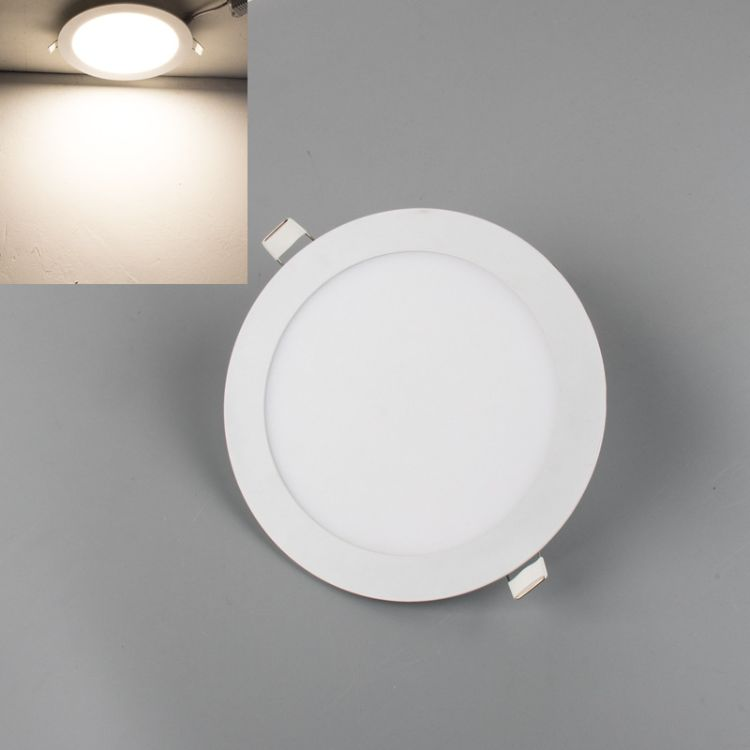 led筒灯超薄面板灯圆方形孔灯开孔8公分6寸3寸4寸5寸18W15W9W12W